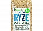 Rýže basmati natural BIO Countrylife